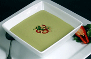 Chilled Avocado Soup from Vegan Fire and Spice