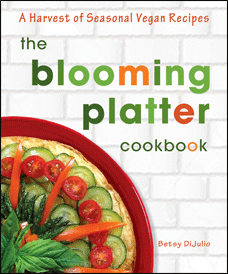 the blooming platter cookbook book cover