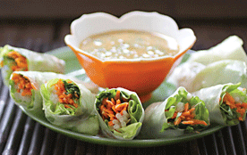 Asian Spring Rolls from Nut Butter Universe